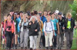 Zieleinlauf in Geisenheim nach 24 Stunden und 72 Kilometern
