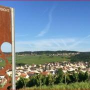 Der Rothenberg bietet die schönste Weinsicht des Rheingaus.