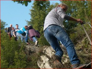 Alpenfeeling auf dem Rabenacksteig