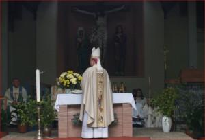 Bischof Georg eröffnet die Wallfahrtssaison in Marienthal
