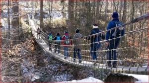 Hängeseilbrücke (Foto: Ralf Fauldrath)