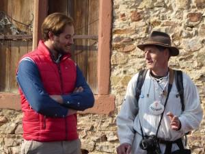 Alexander Graf von Schönborn mit mir im Dialog