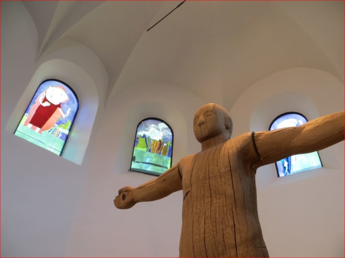 Jesus in der Marienkirche